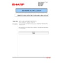 Sharp MX-2614N, MX-3114N (serv.man148) Technical Bulletin
