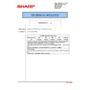 Sharp MX-2614N, MX-3114N (serv.man149) Technical Bulletin