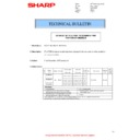 Sharp MX-2614N, MX-3114N (serv.man39) Technical Bulletin