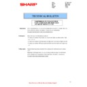Sharp MX-2614N, MX-3114N (serv.man53) Technical Bulletin