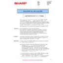 Sharp MX-2614N, MX-3114N (serv.man55) Technical Bulletin