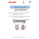 Sharp MX-2614N, MX-3114N (serv.man59) Technical Bulletin