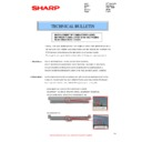 Sharp MX-2614N, MX-3114N (serv.man68) Technical Bulletin