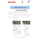 Sharp MX-2614N, MX-3114N (serv.man87) Technical Bulletin