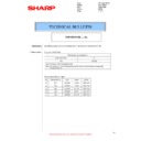 Sharp MX-2614N, MX-3114N (serv.man89) Technical Bulletin