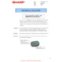 Sharp MX-2614N, MX-3114N (serv.man95) Technical Bulletin