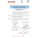 Sharp MX-2614N, MX-3114N (serv.man98) Technical Bulletin
