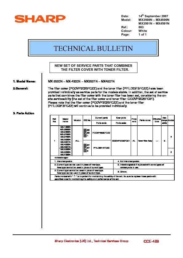 sharp printer service manuals page 615 rh servlib com Sharp MX 4501N sharp mx 4501n manual pdf