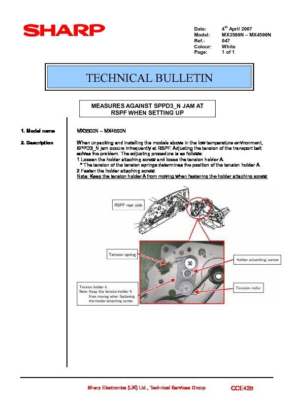 sharp printer service manuals page 616 rh servlib com sharp mx-4501n manual sharp mx 4501n manual pdf