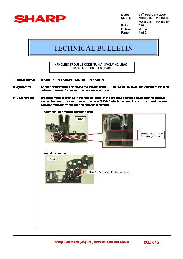 sharp printer service manuals page 622 rh servlib com sharp mx-4501n service manual sharp mx-4501n parts manual