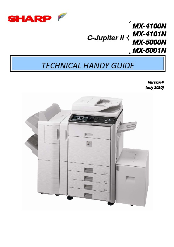 sharp printer service manuals page 628 rh servlib com Microwave Oven Sharp R 308J sharp mx 5001n manual pdf