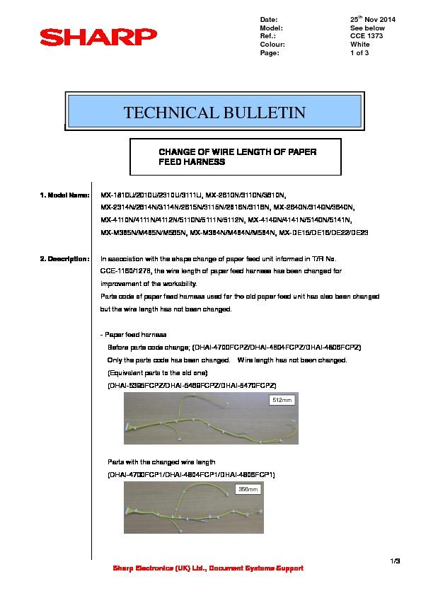 sharp printer service manuals page 638 rh servlib com Driver Sharp MX M700n Sharp MX- M260