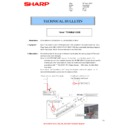 Sharp MX-4140N, MX-4141N, MX-5140N, MX-5141N (serv.man100) Technical Bulletin