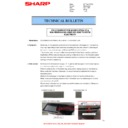 Sharp MX-4140N, MX-4141N, MX-5140N, MX-5141N (serv.man101) Technical Bulletin