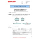 Sharp MX-4140N, MX-4141N, MX-5140N, MX-5141N (serv.man104) Technical Bulletin