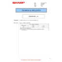 Sharp MX-4140N, MX-4141N, MX-5140N, MX-5141N (serv.man106) Technical Bulletin