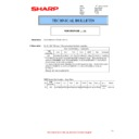 Sharp MX-4140N, MX-4141N, MX-5140N, MX-5141N (serv.man108) Technical Bulletin