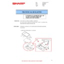 Sharp MX-4140N, MX-4141N, MX-5140N, MX-5141N (serv.man110) Technical Bulletin