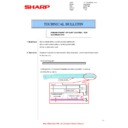 Sharp MX-4140N, MX-4141N, MX-5140N, MX-5141N (serv.man116) Technical Bulletin