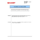Sharp MX-4140N, MX-4141N, MX-5140N, MX-5141N (serv.man119) Technical Bulletin