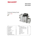 Sharp MX-4140N, MX-4141N, MX-5140N, MX-5141N (serv.man4) Handy Guide