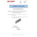 Sharp MX-4140N, MX-4141N, MX-5140N, MX-5141N (serv.man47) Technical Bulletin