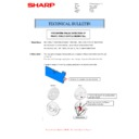 Sharp MX-4140N, MX-4141N, MX-5140N, MX-5141N (serv.man48) Technical Bulletin