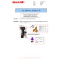 Sharp MX-4140N, MX-4141N, MX-5140N, MX-5141N (serv.man51) Technical Bulletin