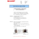 Sharp MX-4140N, MX-4141N, MX-5140N, MX-5141N (serv.man52) Technical Bulletin