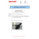 Sharp MX-4140N, MX-4141N, MX-5140N, MX-5141N (serv.man54) Technical Bulletin