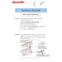 Sharp MX-4140N, MX-4141N, MX-5140N, MX-5141N (serv.man57) Technical Bulletin