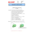 Sharp MX-4140N, MX-4141N, MX-5140N, MX-5141N (serv.man59) Technical Bulletin