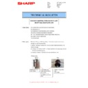 Sharp MX-4140N, MX-4141N, MX-5140N, MX-5141N (serv.man61) Technical Bulletin