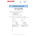 Sharp MX-4140N, MX-4141N, MX-5140N, MX-5141N (serv.man62) Technical Bulletin