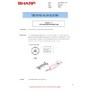 Sharp MX-4140N, MX-4141N, MX-5140N, MX-5141N (serv.man63) Technical Bulletin