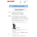 Sharp MX-4140N, MX-4141N, MX-5140N, MX-5141N (serv.man66) Technical Bulletin