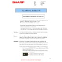 Sharp MX-4140N, MX-4141N, MX-5140N, MX-5141N (serv.man68) Technical Bulletin