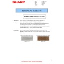 Sharp MX-4140N, MX-4141N, MX-5140N, MX-5141N (serv.man70) Technical Bulletin