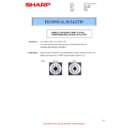 Sharp MX-4140N, MX-4141N, MX-5140N, MX-5141N (serv.man71) Technical Bulletin