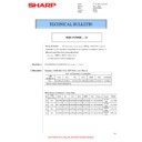 Sharp MX-4140N, MX-4141N, MX-5140N, MX-5141N (serv.man77) Technical Bulletin