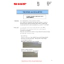 Sharp MX-4140N, MX-4141N, MX-5140N, MX-5141N (serv.man80) Technical Bulletin