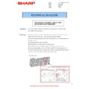 Sharp MX-4140N, MX-4141N, MX-5140N, MX-5141N (serv.man82) Technical Bulletin