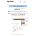 Sharp MX-4140N, MX-4141N, MX-5140N, MX-5141N (serv.man84) Technical Bulletin