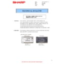 Sharp MX-4140N, MX-4141N, MX-5140N, MX-5141N (serv.man87) Technical Bulletin