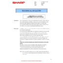 Sharp MX-4140N, MX-4141N, MX-5140N, MX-5141N (serv.man89) Technical Bulletin