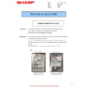 Sharp MX-4140N, MX-4141N, MX-5140N, MX-5141N (serv.man90) Technical Bulletin
