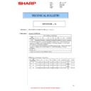 Sharp MX-4140N, MX-4141N, MX-5140N, MX-5141N (serv.man91) Technical Bulletin