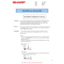 Sharp MX-4140N, MX-4141N, MX-5140N, MX-5141N (serv.man92) Technical Bulletin