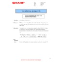 Sharp MX-4140N, MX-4141N, MX-5140N, MX-5141N (serv.man93) Technical Bulletin