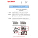 Sharp MX-4140N, MX-4141N, MX-5140N, MX-5141N (serv.man94) Technical Bulletin